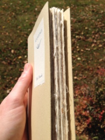 Live text block fore edges.